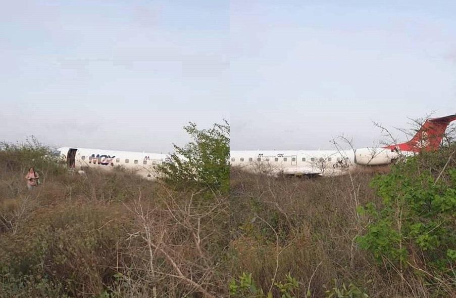 ÚLTIMA HORA: Aeronave da LAM despista-se ao aterrar no Aeroporto Internacional de Maputo