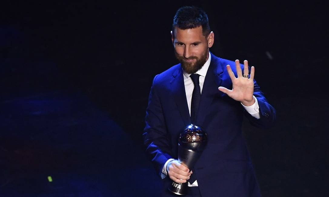 "Lionel Messi vence o prêmio ""THE BEST"""