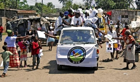 MDM quer que Filipe Nyusi Abandone o Poder
