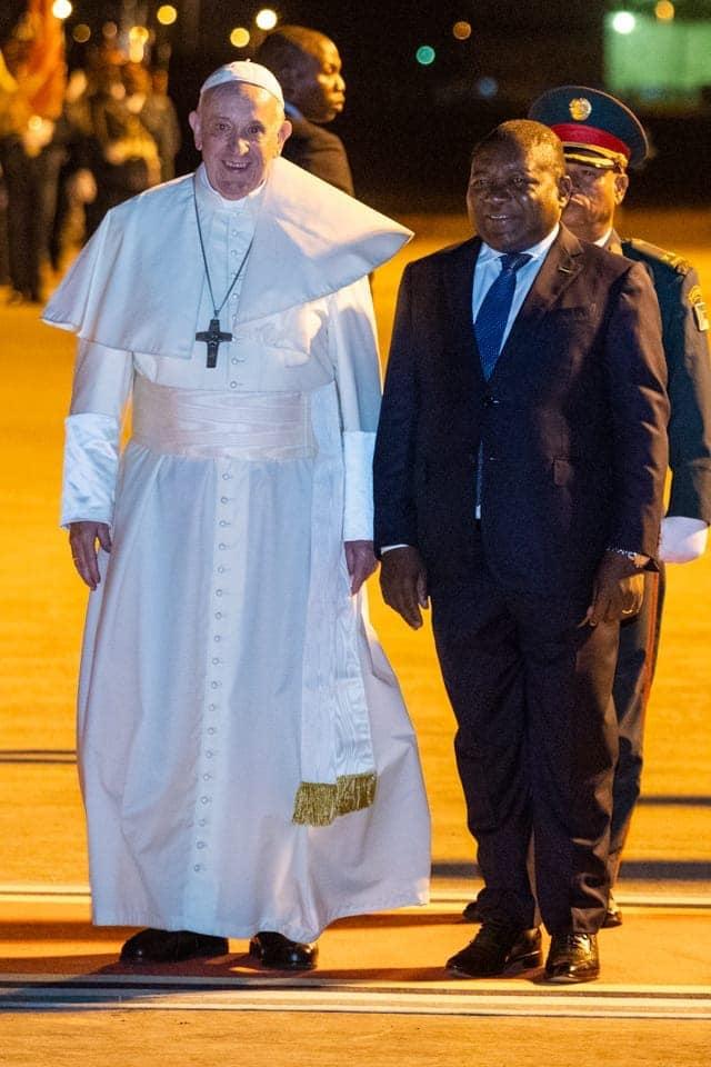 Papa Francisco Paralisou a Cidade de Maputo