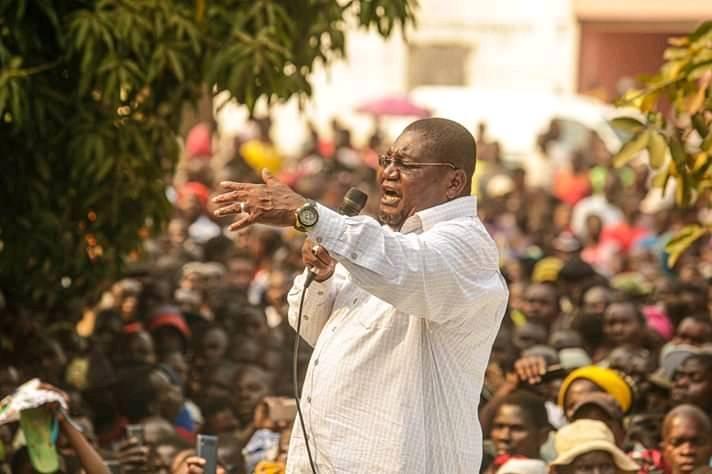 """""""Se quiserem salvar Moçambique, estas eleições devem ser anuladas"""" diz Ossufo Momade"""