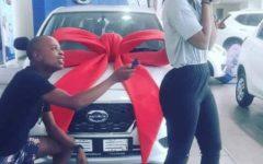 Garota Rejeita Datsun Go como presente do namorado porque queria BMW