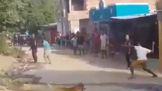 Mulher tem casa apedrejada por vizinhos após trocar senha do Wi-Fi (Vídeo)