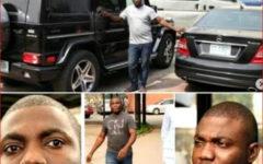Nigeriano Fatura cerca de 1 milhões de Dólares a partir de uma prisão