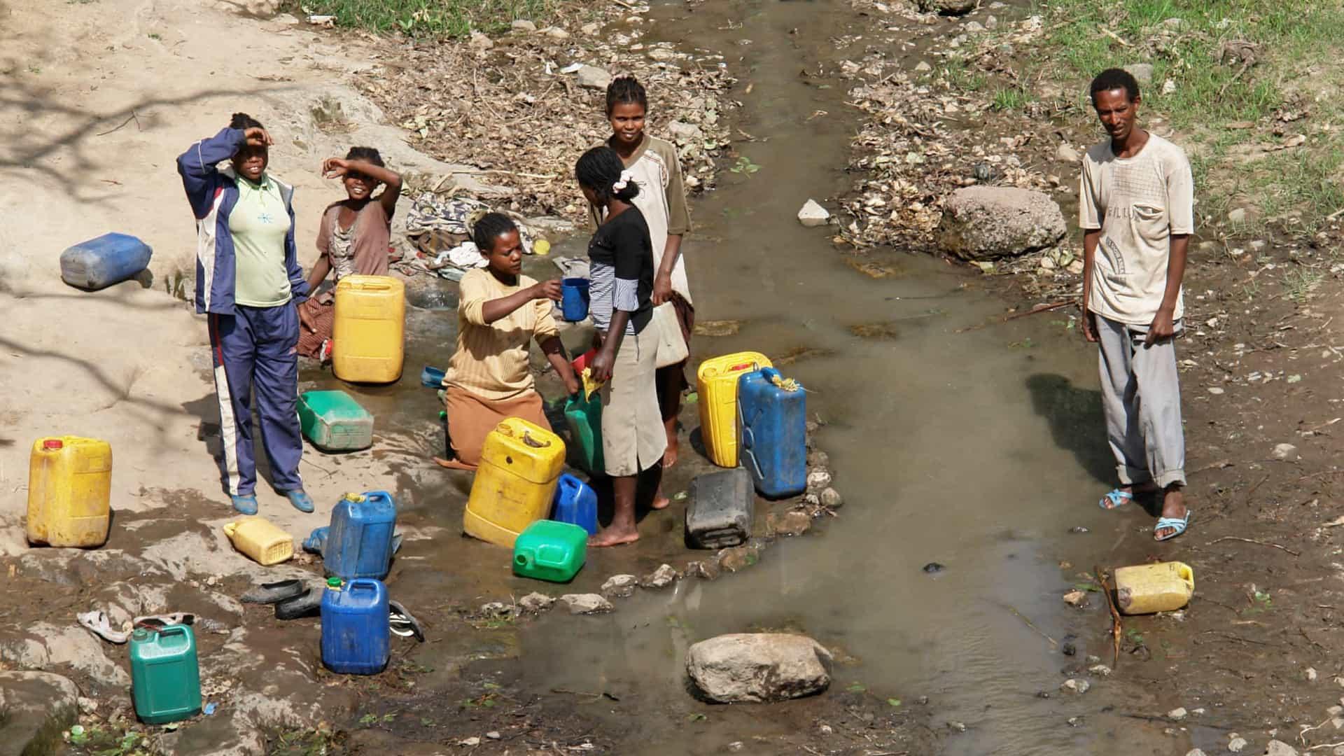 Seca que afeta África coloca 45 milhões de pessoas sob ameaça de fome