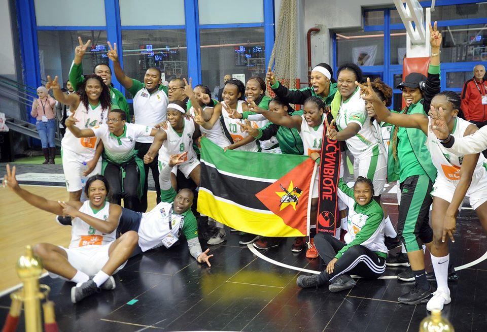 Ferroviário de Maputo vence  Interclube de Luanda por (91-90) e sagra-se Bi-campeã africana de basquetebol