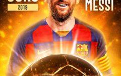 Lionel Messi Conquista a sua Sexta Bola de Ouro