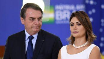 Primeira Dama Brasileira está infetada com Covid-19