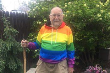 Idoso de 90 anos sai do armário e assume que é gay após ser incentivado pela filha