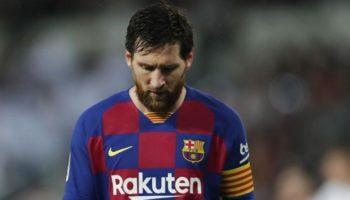 Futuro de Lionel Messi no Barcelona está em cima da mesa