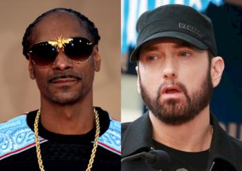 Snoop Dogg recebe chuva de críticas após excluir Eminem do seu Top 10 dos melhores rappers da história