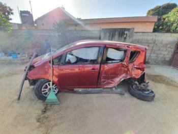 Txiobullet sofre acidente de viação em Maputo