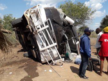 Acidente envolvendo autocarro da Citylink faz dois mortos na Zambézia