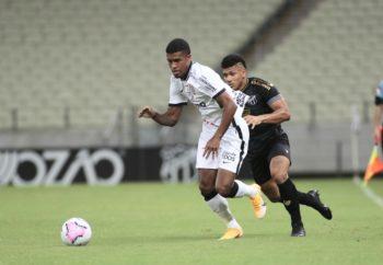 Corinthians perde (2-1) com Ceará e entra na zona de rebaixamento