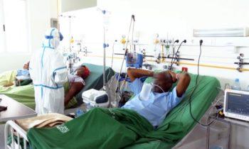 Pela primeira vez Moçambique mostra rosto de pacientes internados por causa do covid-19