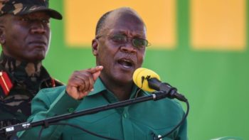 ÚLTIMA HORA: Morreu o presidente da Tanzânia, John Magufuli