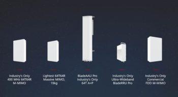 Huawei demonstra recursos inovadores na MWC e lançou um conjunto de soluções 5G