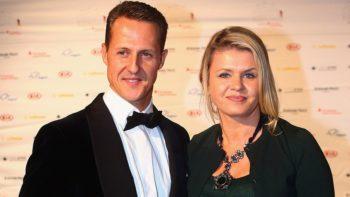 Esposa de Michael Schumacher fala sobre o estado de saúde do marido