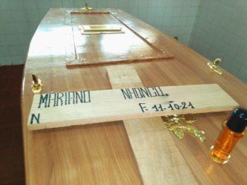 Caixão de Mariano Nhongo já está pronto
